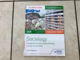 OCR A Level Sociology: Researching and understanding social inequalities