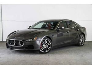 2015 Maserati Ghibli Q4 S LOADED! WINTER TIRES + RIMS & SKYHOOK!