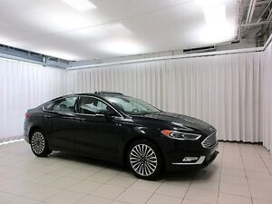 2017 Ford Fusion SE AWD SEDAN w/ HEATED SEATS, SUNROOF, ALLOYS &