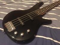 Ibanez GIO Bass Guitar and Amp