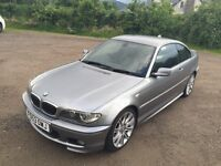 BMW 330CI M-Sport, FSH, Low miles, No rust, Great example.