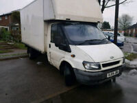 ++++CHEAP FORD TRANSIT LUTON VAN 2004 PLATE+++NEW CLUTCH DRIVES GOOD+++