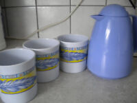 CAMPING CUPS AND JUG (NEW