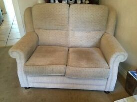 2 Seater sofa & 2 matching armchairs.