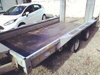 Ifor williams3500kg gx12x6 plant transporter trailer
