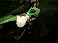 Road legal Kawasaki Kx 125