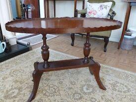 Piecrust Ornate Vintage Table