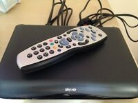 Digital SKY HD Multiroom box complete with remote control and hdmi cable
