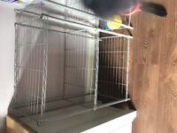 3 tier metal rack