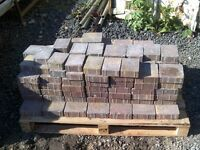 3.5 Square Metre Tegula Paving Blocks