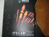 Wera Kraftform Kompakt VDE Adjustable Torque Screwdriver Set 1.2-3 Nm - 15 Piece brand new