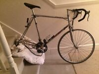 Peugeot bicycle with 23.5 inch large frame. 99% complete.