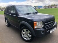 LAND ROVER DISCOVERY 3 HSE 2007 7 SEATS 1 FORMER OWNER NEW MOT PANORAMIC ROOF SAT NAV HEATED LEATHER