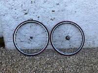 Shimano RS 80 Carbon road bike Wheelset / wheels Dura Ace cassette
