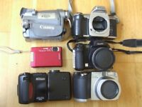 JOB LOT - Various condition rare cameras and accessories