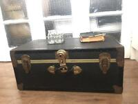 GENUINE VINTAGE TRUNK CHEST FREE DELIVERY LDN🇬🇧COFFEE TABLE storage box