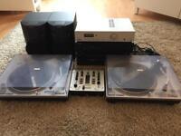 Job lot of retro audio equipment