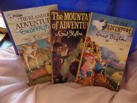 3 Enid Blyton paperbacks of the Adventure series