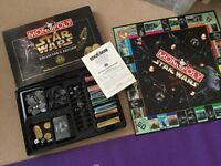 Monopoly Star Wars collectors edition- complete, used. £9