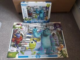 60 piece Monster University puzzle. Shopping List game