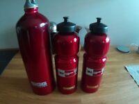 3 x Aluminium SIGG Water Bottles. VGC