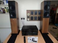 TIBO TI430 Speaker and CD player Hi-Fi system