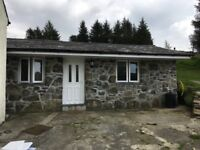 1 bedroom barn conversion with land.