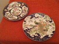 Two Imari Japanese plates
