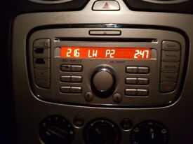 FORD 6000 CD Radio player with code mk4 focus modeo/focus