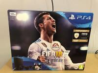 * LIKE NEW * BLACK PS4 SLIM 500GB CONSOLE + WIRELESS CONTROLLER + WARRANTY + BOX