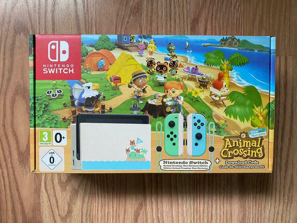 Nintendo Switch Animal Crossing Limited Edition   in ...
