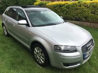 Fabulous Value 2006 56 Audi A3 1.6 SPECIAL EDITION 5 Dr Hatchback 74000 Miles HPI Clear Pan Roof