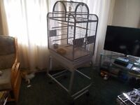 Lazybone Parrot Cage
