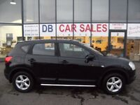 2007 07 NISSAN QASHQAI 1.6 VISIA 5D 113 BHP **** GUARANTEED FINANCE **** PART EX WELCOME
