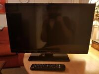 24 INCH FULL HD JMC TV/MONITOR + DVD PLAYER COMBO WITH REMOTE - IMMACULATE CONDITION