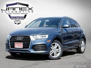2016 Audi Q3 2.0T Technik ONE OWNER