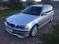 BMW E46 330d M Sport Touring - 3.0 Turbo Diesel Estate - 2 owners - Can Be Delivered
