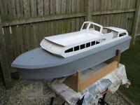 Old Model Boat