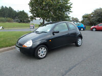 FORD KA COLLECTION BLACK 2005 SPARES OR REPAIR NO MOT DRIVES BARGAIN ONLY 150 *LOOK* PX/DELIVERY