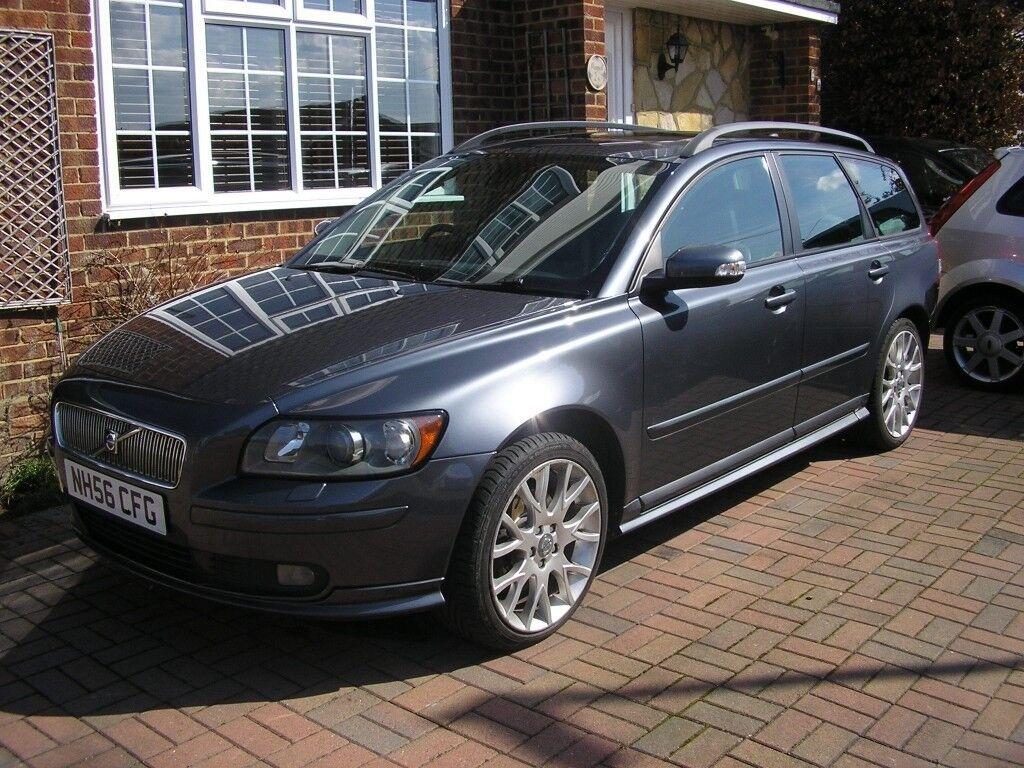 2007 volvo v50 2 0 sport diesel met grey estate fsh 10. Black Bedroom Furniture Sets. Home Design Ideas