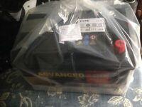 Car battery brand new. 096 72ah