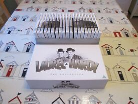 Box Set of Laurel and Hardy Films.