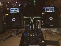 Pioneer DJ setup XDJ 1000 & DJM 850