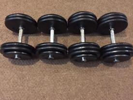 Bodypower Pro Style Dumbbells free weights