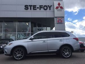 2016 Mitsubishi Outlander GT S-AWC  GPS Cuir, Toit 7 places