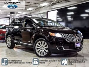 2013 Lincoln MKX Panoramic Moonroof, Navigation, Tow package