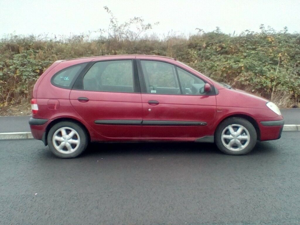 renault megane scenic sport 2001 in wareham dorset gumtree. Black Bedroom Furniture Sets. Home Design Ideas