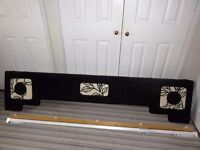 Boxed Padded Window Pelmet