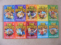 TIME HUNTERS BOOKS - SET OF 10 - BRAND NEW