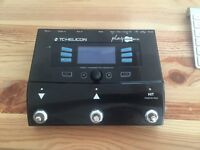 TC HELICON PLAY ACOUSTIC VOCAL/GUITAR EFFECTS PROCESSOR FOR SALE